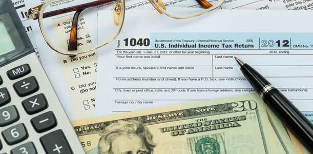 Taxes Refund Money